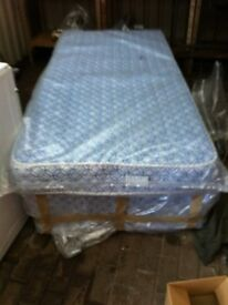 BRAND NEW SINGLE BED AND MATTRESS PERFECT FOR CHRISTMAS AND OR NEW YEAR GIFT