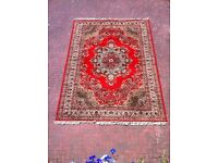 Very large Super Keshan 100% wool pile handmade Persian rug