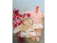 Baby boden snow suit, TU snow suit and mayoral jacket