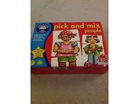 Orchard toys pick and mix people game not played with! Pre school to age 7