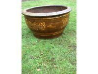 Large Earthenware Garden Pot