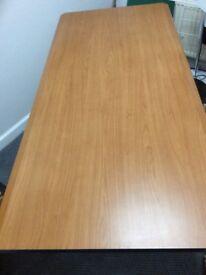 Wood grain laminate top