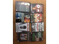 Various DVDs cert15 & 18