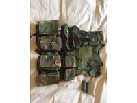 Boys Adjustable Camouflage Tactical Vest