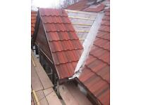 Roofing, roof tiles, chimneys, lead, ridges, Facias,guttering, soffits chimney pots