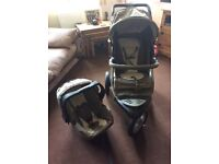Mothercare Xtreme Pushchair Travel System