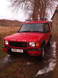 Land Rover Discovery ,W reg. (2000) 2.5 Td5 ES ,5 d ,automatic, 7 seater.
