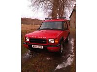 Landrover Discovery ,10 months m.o.t., automatic,full leather interior.