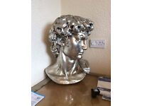 HUGE Male Bust 2.5ft Tall x 1.5ft Wide (Head & Shoulders)