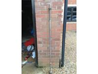 8 x 5FT Standard Barbells with Spinlocks (£10 each)