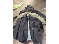 4 x winter jackets .. gents all in superb condition