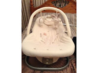 Mamas and Papas baby bouncer chair, Chad Valley bouncer chair, extending baby gate