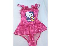 Girls swimming costume - Hello Kitty