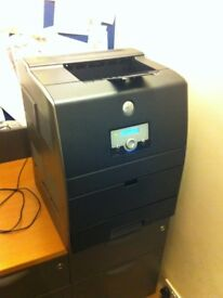 Dell 3100cn Network printer WITH TWO NEW Cyan and Yellow genuine extra toners