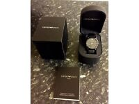 Mens Genuine Armani Watch