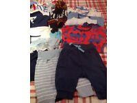 BABYBOY CLOTHES BUNDLE - Size 0/3 Months