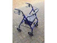 Wheeled Walker (Blue), Rollator.