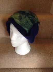 Hat felted handmade