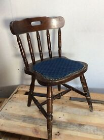 Spindleback wood chairs ideal retro or cafe pub