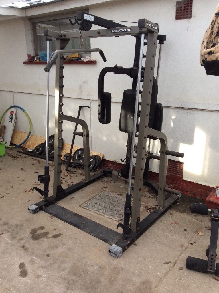 Nautilus smith machine multi gym | in Blackfield ...
