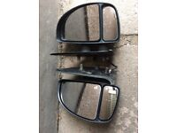 Pair Electric Heated Mirrors Peugot Boxer