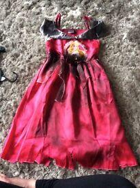 Halloween aurora princess Age 5/6