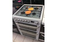 Hotpoint HUD61 Dual Fuel Double Oven Twin Grill Cooker with 4 MONTHS WARRANTY
