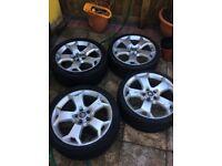 """19"""" snowflake vxr alloy wheels"""