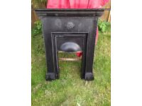 Cast iron period fireplace