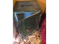 Vintage floor standing security safe