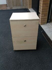 Filing table Or as bed side table,