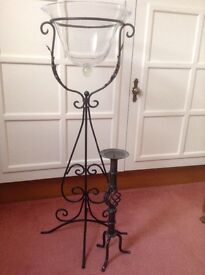 Decorative stand and candle stick holder