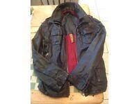 Unisex Superdry Leather Brad Jacket