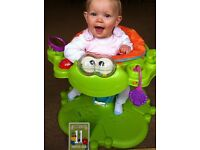 fisher price froggy (space saving jumperoo type) fisherprice bouncing froggy