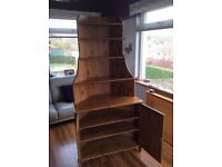 Oak style corner unit quick sale £25 in excellent condition and well worth a look