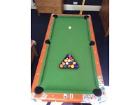 Pool Table - ideal Christmas present!