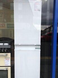 Intergrated 70/30 fridge freezer. 12 month gtee