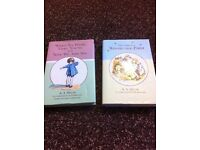 Set of 2 Whinnie the pooh books in very good condition.
