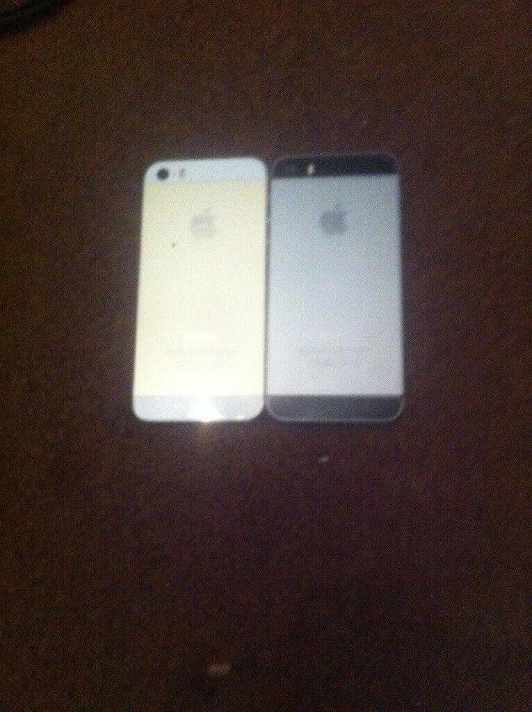 Joblot of 2 Apple iPhone 5 both Spairs or repairs