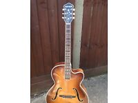 1957 Hofner President archtop guitar