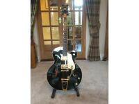 Gretsch Black Falcon with OHSC, certification etc - lovely condition...