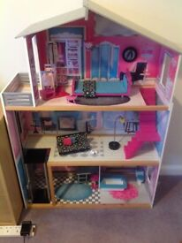 Used dolls house