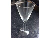 Set of 8 crystal sherry glasses - KOSTA boda crystal