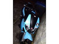 Gilera st runner 218cc reg as a 125cc ***quick sale***