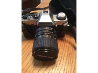 Olympus CM 20 camerawith a Bell & howell lense