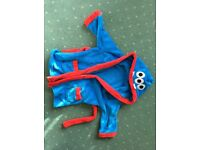 Age 2-3 boys dressing gown