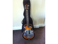 Classic looking resonator / Dobro type guitar.