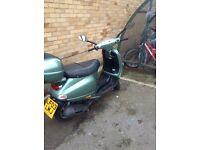Vespa et4 125 urgent sale moped