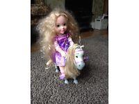 Disney Tangled Doll & Maximus Horse Set