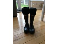 Genuine hunter wellies rare size 4